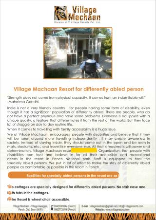Accommodation In Pench