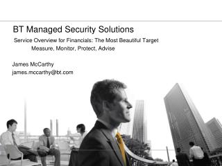 BT Managed Security Solutions