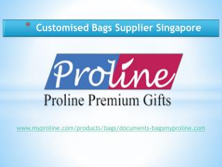 Customised Bags Supplier Singapore