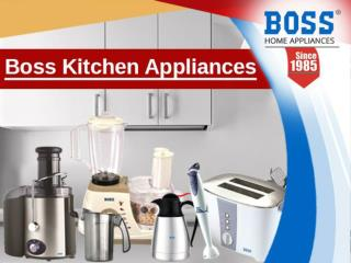 Kitchen Appliances in India