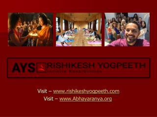 200 Hour Yoga Teacher Training in Rishikesh, India : syllabus Digestive system ppt