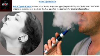 Best e Cigarette India