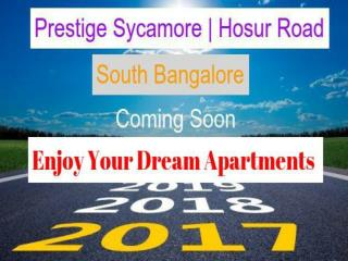Luxury Prestige Group Apartments In Hosur Road , Bangalore