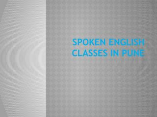 Spoken English Classes in Pune | English Speaking Classes |Pune Training Institute