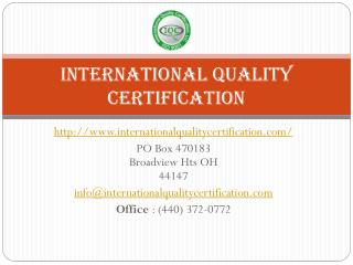 Iso 14001 Certification Service