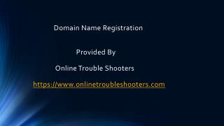Domain Name Registration| Web Hosting | Book Your Web Name