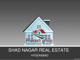 Real Estate Agents Hyderabad, Real Estate Prices Shad Nagar, Open Plots Shad Nagar