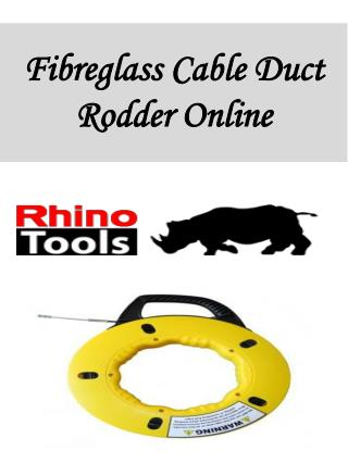 Fibreglass Cable Duct Rodder Online