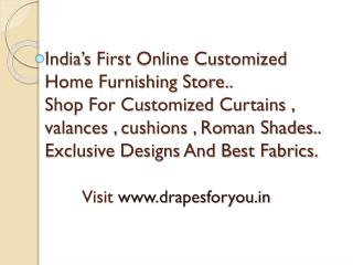 India's first online home furnishing website .
