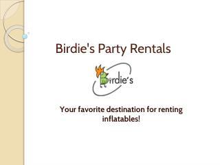 Birdie's Party Rentals