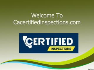 Real Estate Inspection Los Angeles