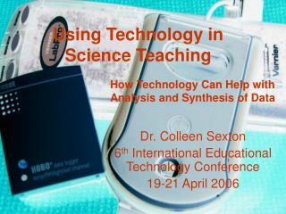 Using Technology in  Science Teaching