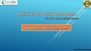 Travel portal development company