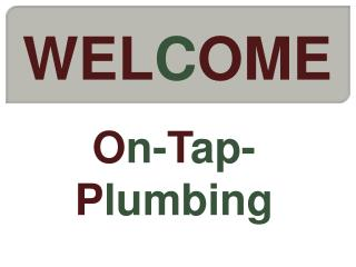 High quality plumbing services in Watford