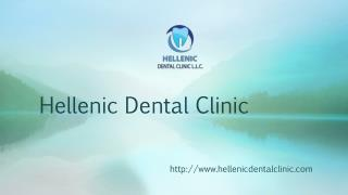 Hellenic dental clinic in Dubai, Jumeira, UAE