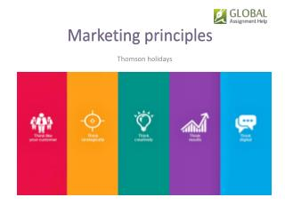 Marketing Principles for Thomson Holidays