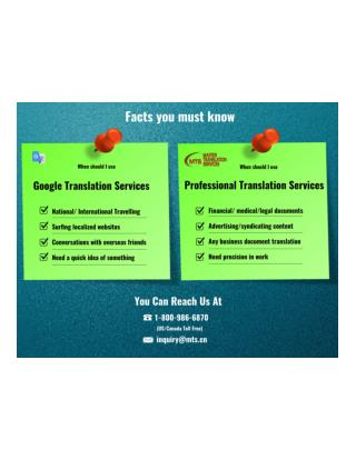 Why Professional Translation Services So Vital