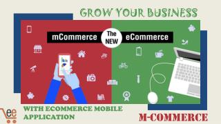 Grow your business with ecommerce mobile application