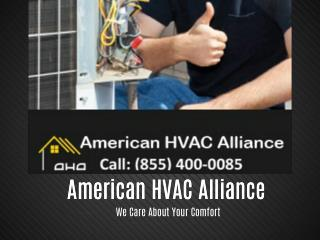 American HVAC Alliance - We Care About Your Comfort