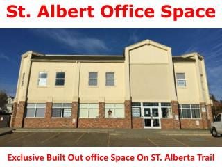 St. Albert Office Space