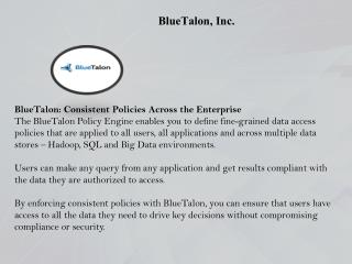 Recognized in Gartner's Market Guide for Data Masking | BlueTalon