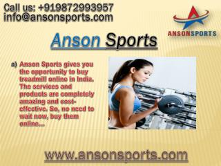 Looking For Home Gym Equipment - Buy From Ansonsports.com