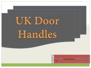UK Door Handles