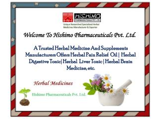 Herbal Supplement Manufacturers