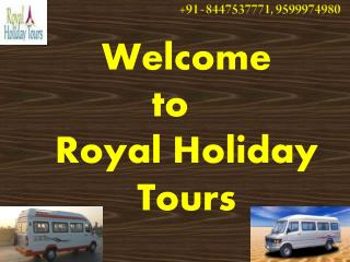 Luxury and Sofa Tempo Traveller on Rent in Delhi