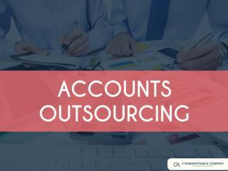 Accounting Outsourcing Services in Chennai