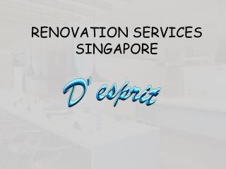 Renovation Services That Will Give A New And Innovated Look To Your Home