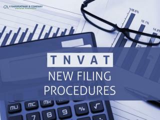 TNVAT – New Filing Procedures