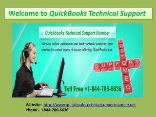 Quickbooks Technical Support Help Phone Number
