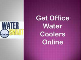 Get Office Water Coolers Online