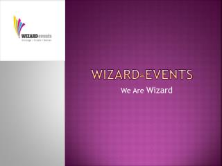 Corporate Event Management | Wizard-Events.in | Top Event Planner in Delhi
