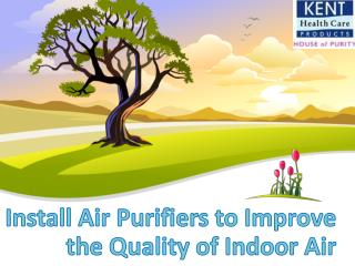 Best Air Purifier in India - Kent