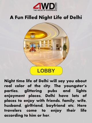 A Fun Filled Night Life of Delhi