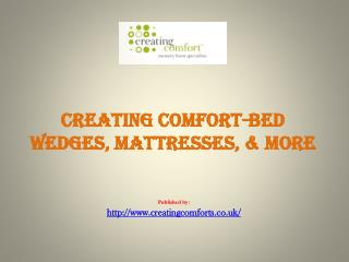 Bed Wedges, Mattresses, & More