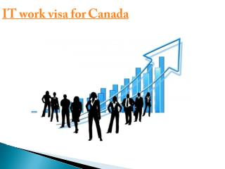 IT work visa for Canada