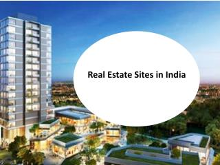 Real estate sites in india