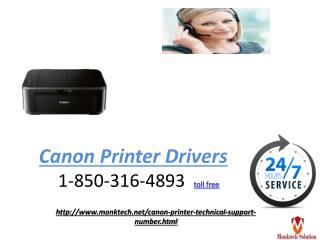 How to install Canon Printer Driver to know Dial on 1-850-316-4893