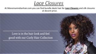 Lace Closures - manemanindianhair.com
