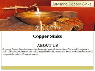 Avaliable affordable and good quality copper sinks