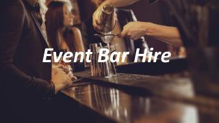 Event Bar Hire - bartender4you.co.uk