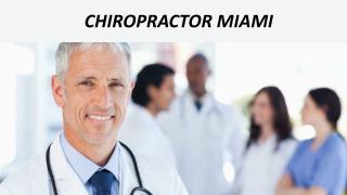 Chiropractor Miami