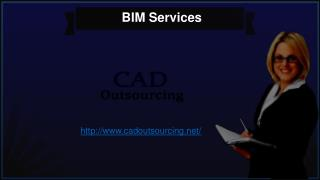 Business Information Modeling Services -Cad Outsourcing