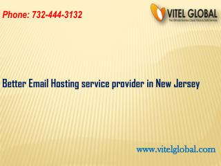 Better Email Hosting service provider in New Jersey