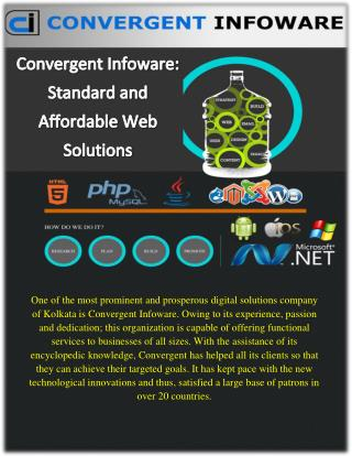 Allow your Business to Prosper with Convergent Infoware
