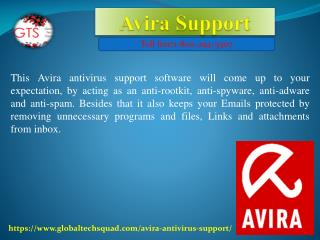 Avira Antivirus Support Toll Free:1-800-294-5907