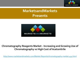 Chromatography Reagents Market worth 6.310 Billion USD by 2020